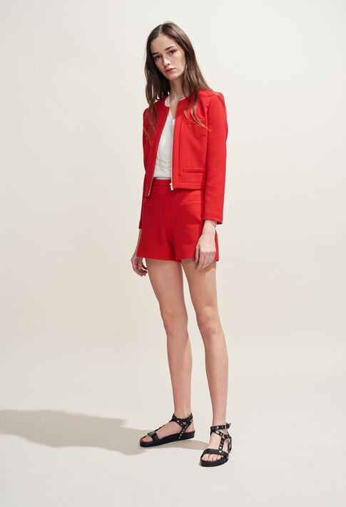 ERYNE : Skirts & Shorts color Ecarlate