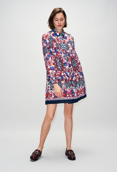 RAMSESH19 : Dresses color PRINT FONCE