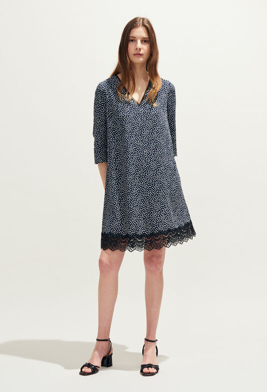 REAL : Dresses color Navy
