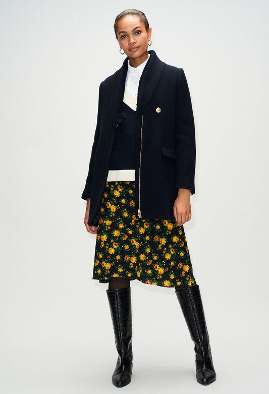 GALINOH19 : Coats & Jackets color NAVY