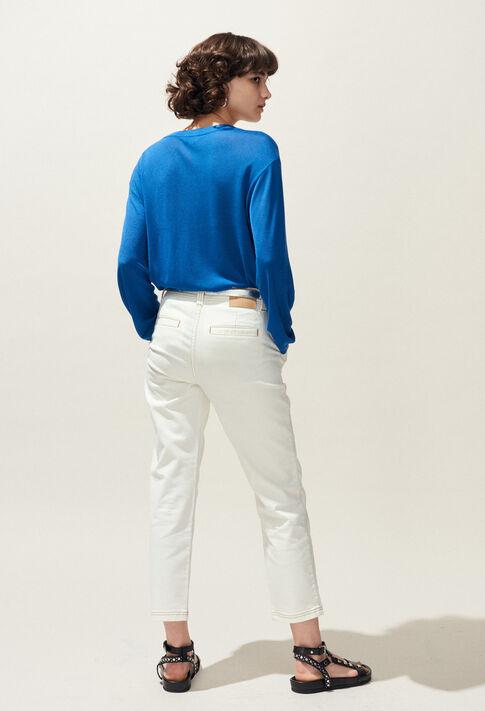 MALIGNE : Knitwear & Sweatshirts color TRANSAT BLUE