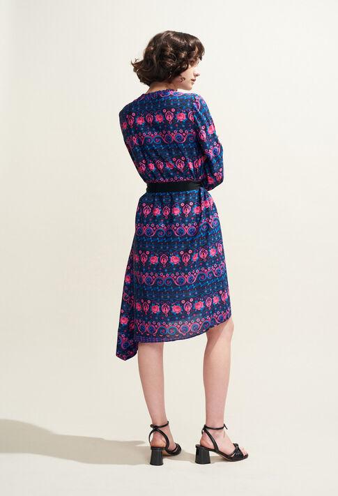 RAJAH : Dresses color MULTICO