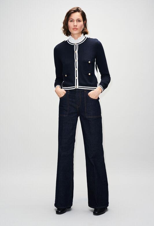 MAXIMERH19 : Knitwear & Cardigans color NAVY
