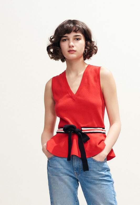 MARSA : Knitwear & Cardigans color ECARLATE