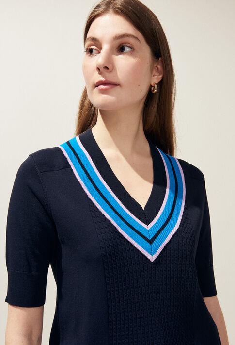 MISTIGRIS : Knitwear & Cardigans color MARINE