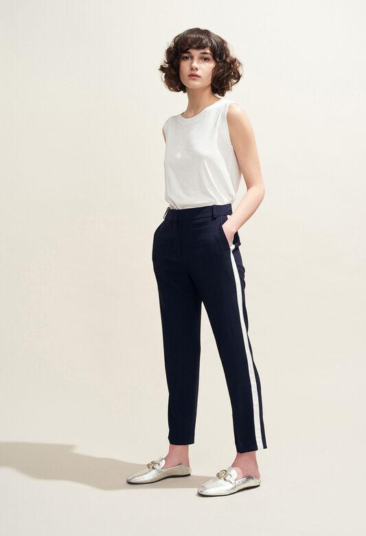 POP : Jeans & Pants color Navy