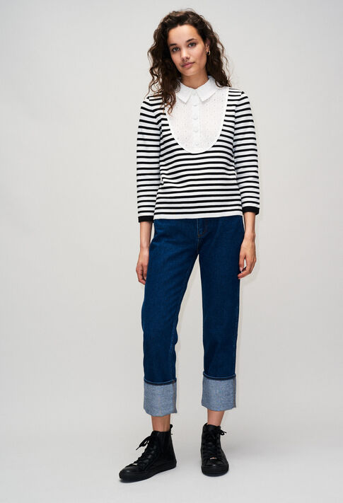 MYPOPYH19 : Knitwear & Cardigans color NAVY
