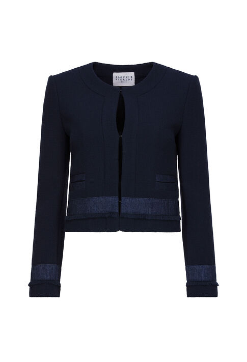 VOLODIA : Blazers color Navy
