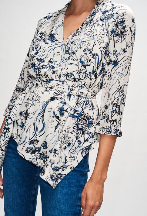 BOGOTTAH19 : Tops & Shirts color PRINT