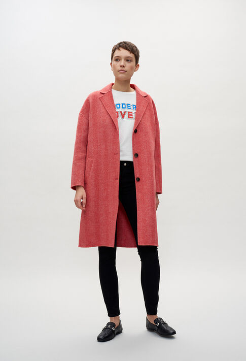 GALVAE20 : Coats & Jackets color RED