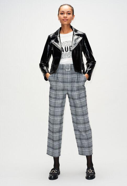 CARLYH19 : Coats & Jackets color BLACK