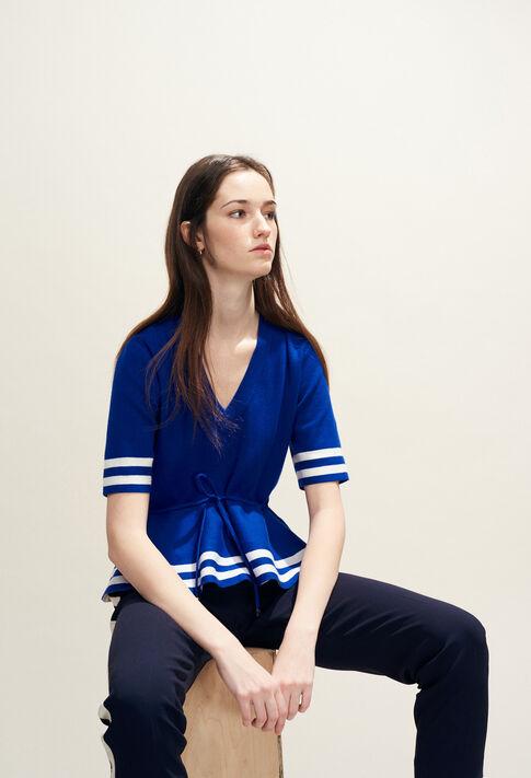 MARLY BIS : Knitwear & Cardigans color Indigo