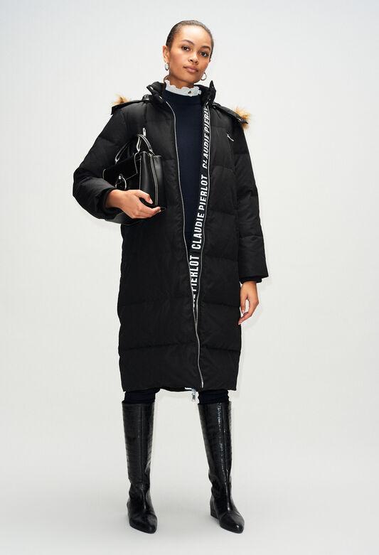 GUNH19 : Coats & Jackets color BLACK