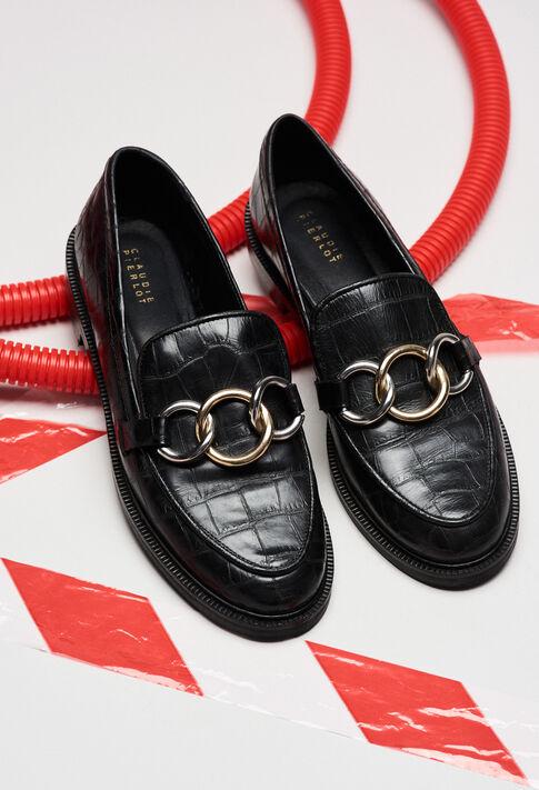 ACCORDCROCOH19 : Shoes color BLACK