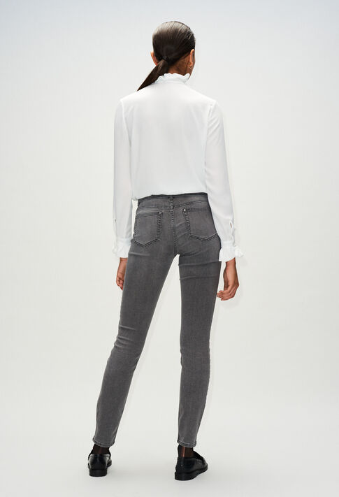 PASSIONH19 : Jeans & Pants color MIXED GREY