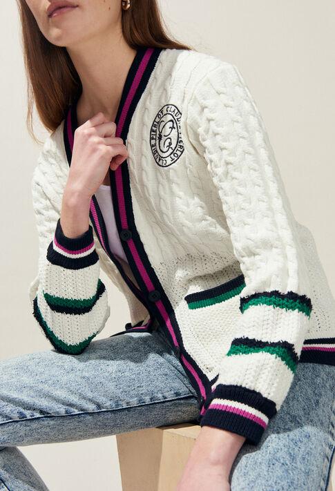MYBLUE : Knitwear & Cardigans color Ecru