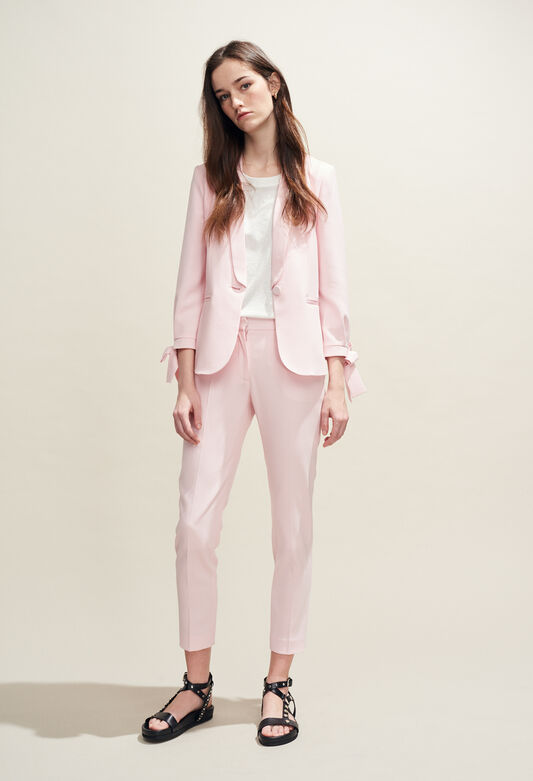 POUSSIN BIS : Jeans & Pants color ROSE