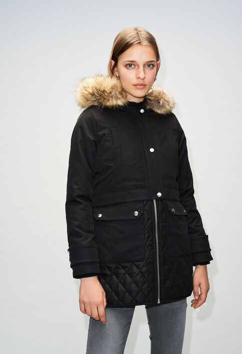 GRAVIERH19 : Coats & Jackets color BLACK