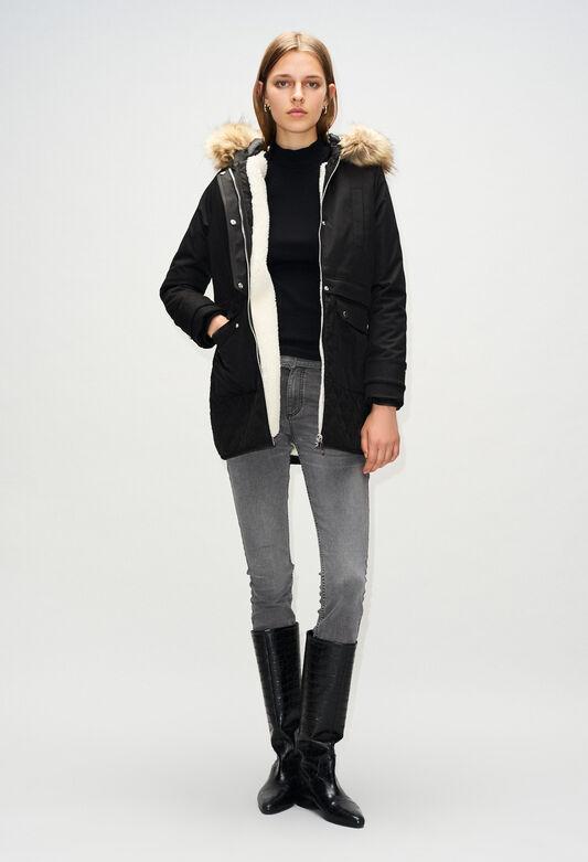 GRAVIERH19 : Coats & Jackets color BLACK
