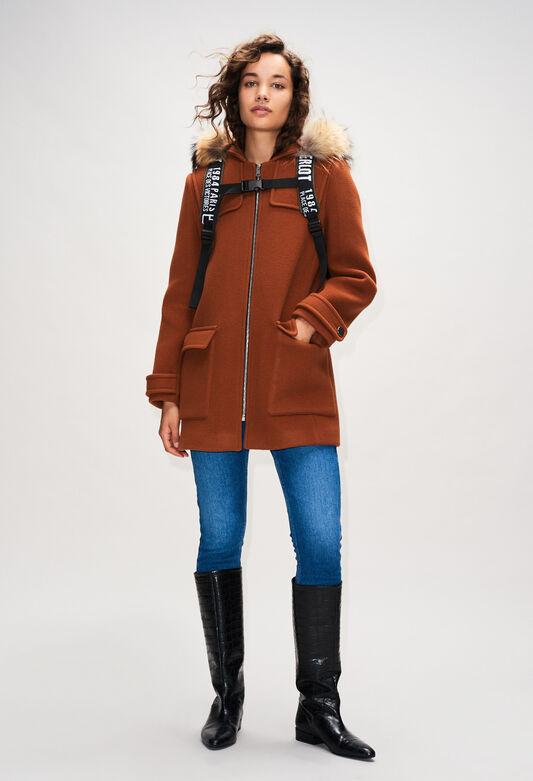 GREGOH19 : Coats & Jackets color OURSON