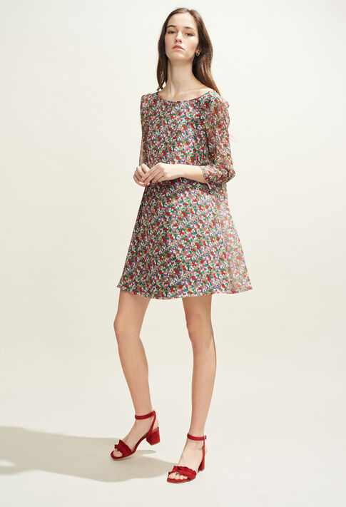RIFIFI FLEURETTES : Dresses color MULTICO