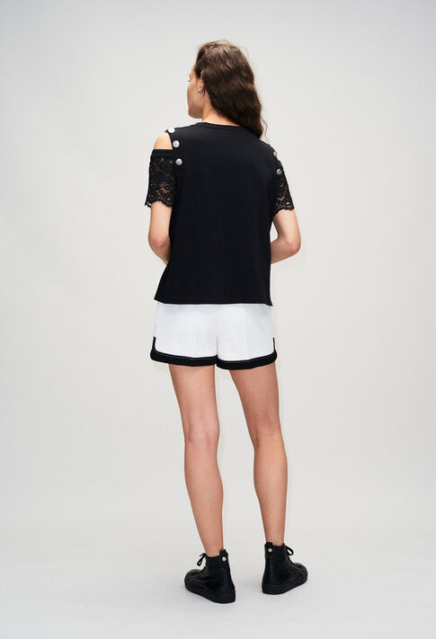 TRENDYH19 : T-shirts color BLACK