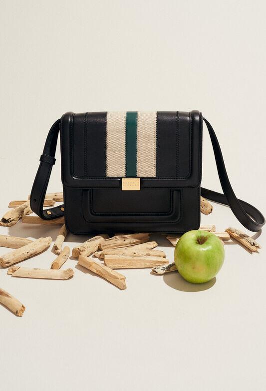 ANGELA STRIPES : Bags & Leather Goods color NOIR