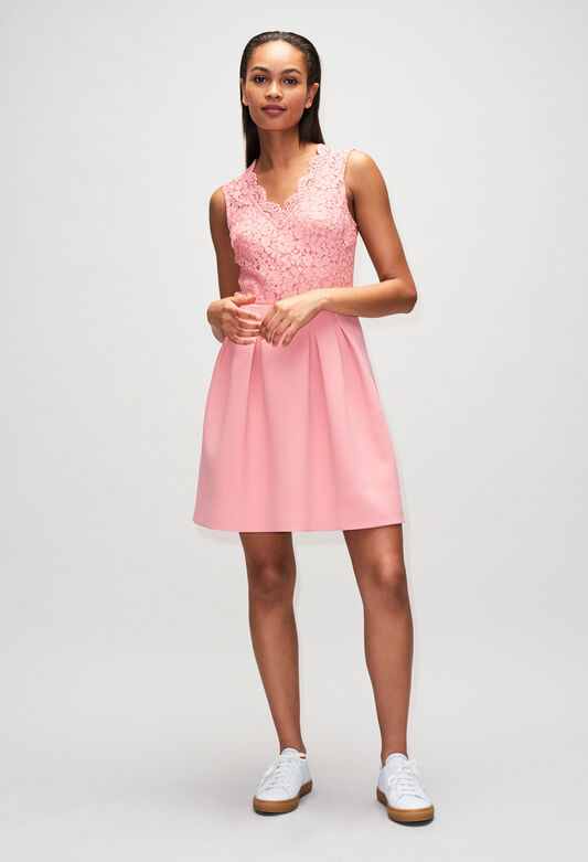 RAGAZZAH19 : Dresses color ROSE PECHE