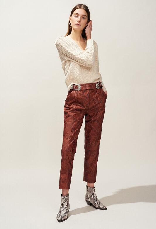 MONTESQUIEU : Knitwear & Cardigans color IVOIRE