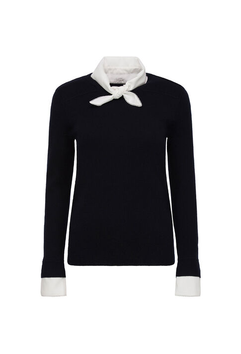 MASSINARI : Knitwear & Cardigans color Navy