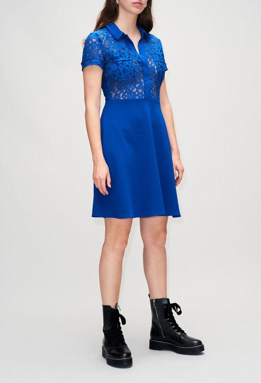 RAEH19 : Dresses color BLEU ROI