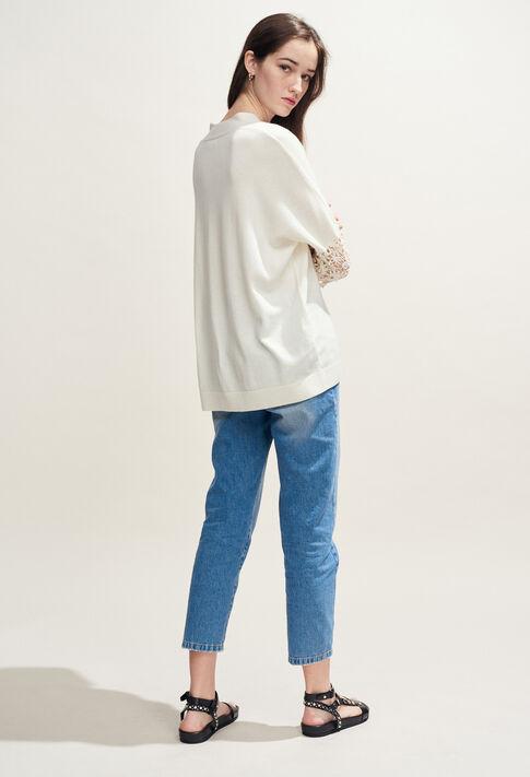 MANIA : Knitwear & Cardigans color Ecru