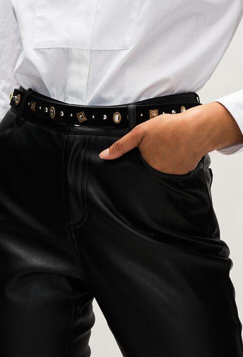 AVEGASSTRASSH19 : Belts color BLACK