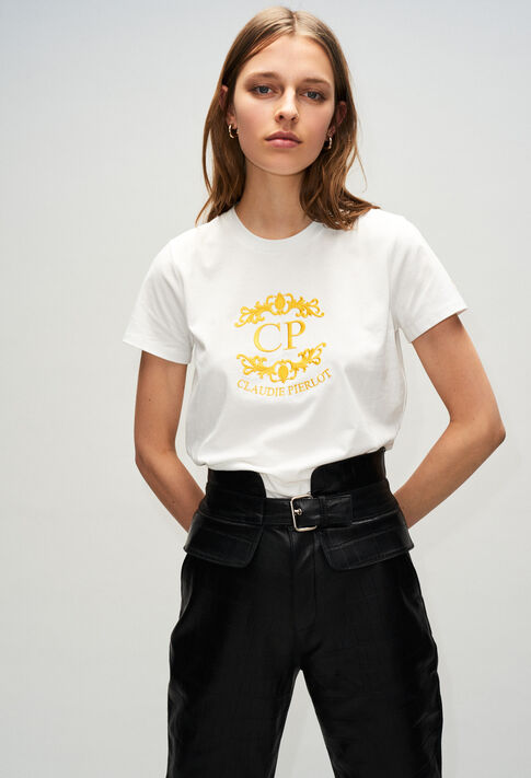 TOURNESOLH19 : T-shirts color ECRU