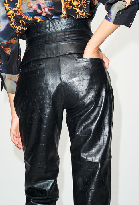 CARDAMONEH19 : Jeans & Pants color BLACK