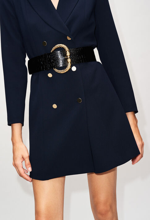 RESEAUH19 : Dresses color NAVY