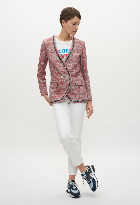 VAGUEE20 : Blazers color ROUGE