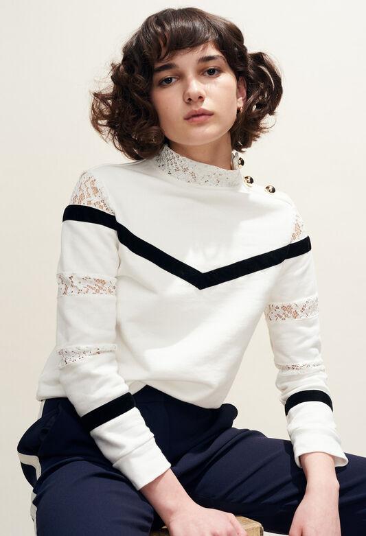 TAMI : Knitwear & Cardigans color Ecru