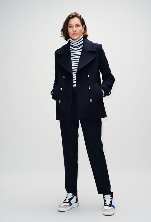 GILLOH19 : Coats & Jackets color NAVY