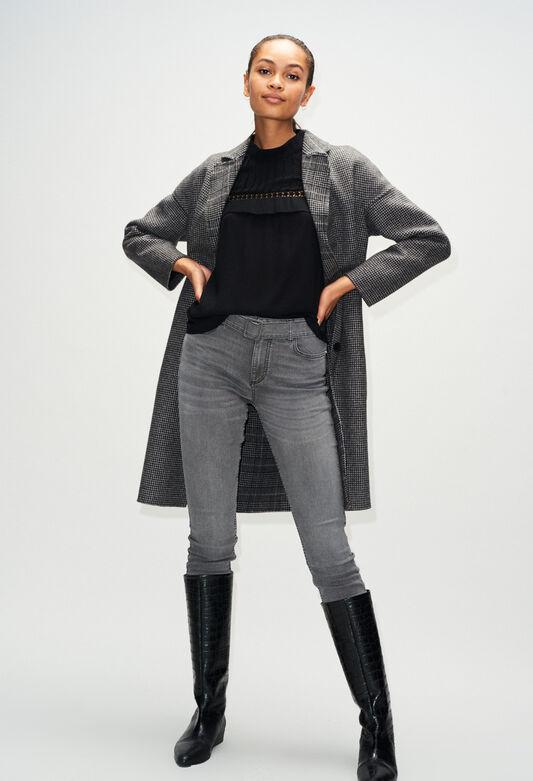 PASSIONH19 : Jeans & Pants color GRIS MELANGE