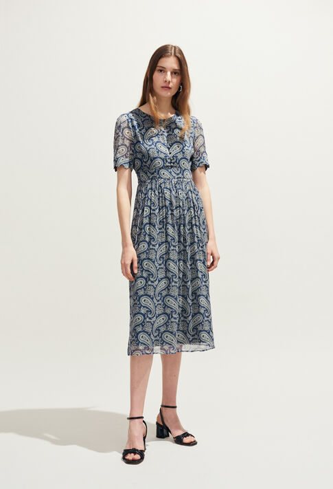 RIZALDE : Dresses color MARINE