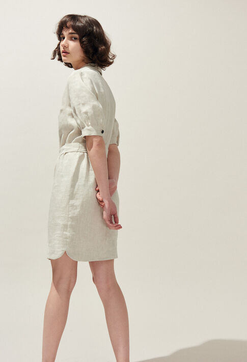 ROSEA : Dresses color Off White