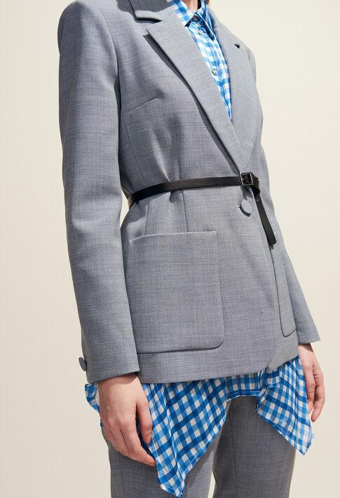 VALENTINA : Blazers color Mottled Grey