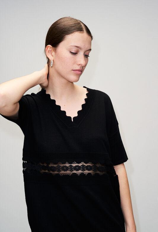 MELINEH19 : Knitwear & Cardigans color BLACK