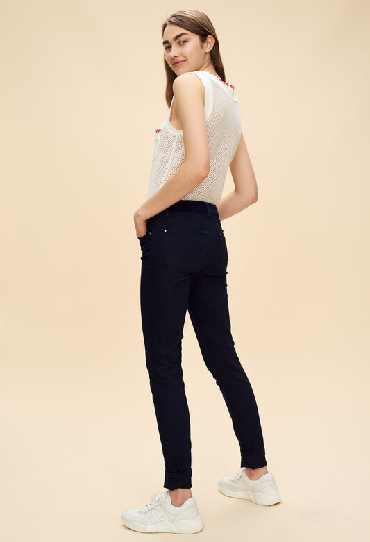 PADEN : Jeans & Pants color Navy