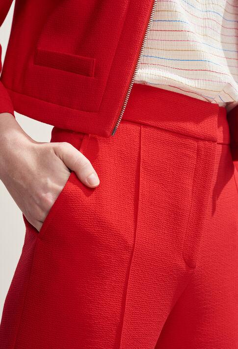 POURPRE : Jeans & Pants color Ecarlate