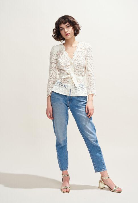 BLOSE : Tops & Shirts color Ecru