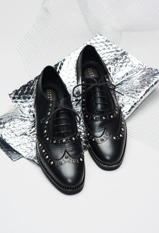 ALEXISSTUDSH19 : Shoes color BLACK