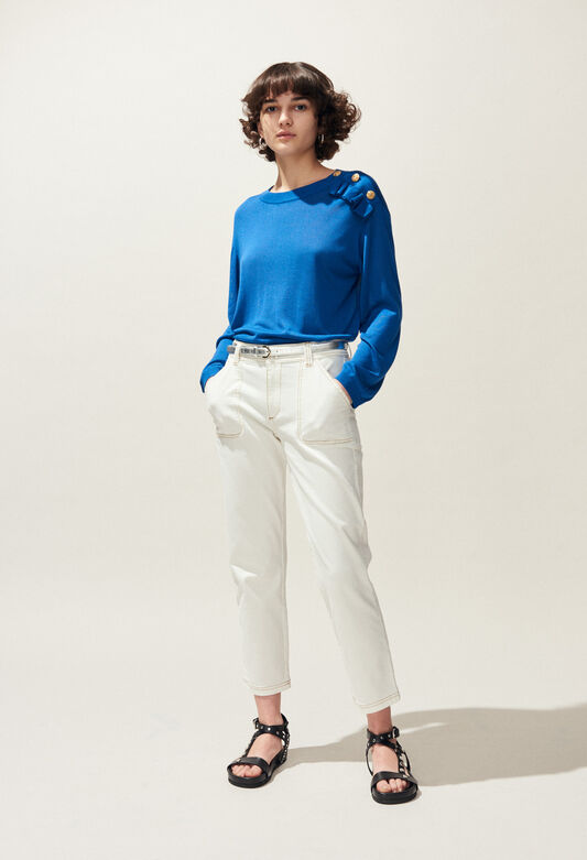 MALIGNE : All at 50% off and more color TRANSAT BLUE