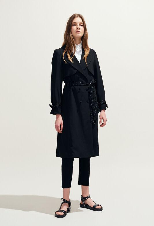 GRACIEUX : Coats & Jackets color Black
